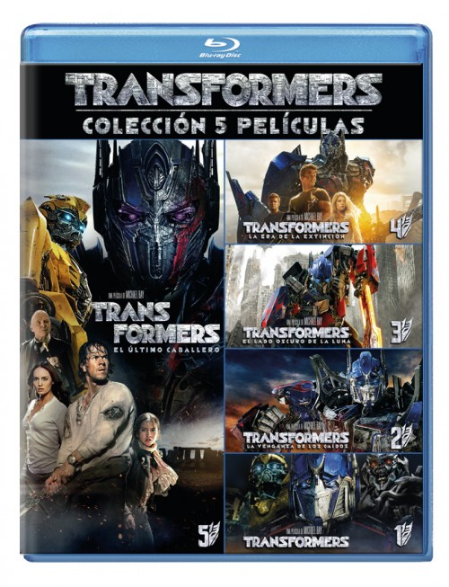 Transformers (pack 1-5)