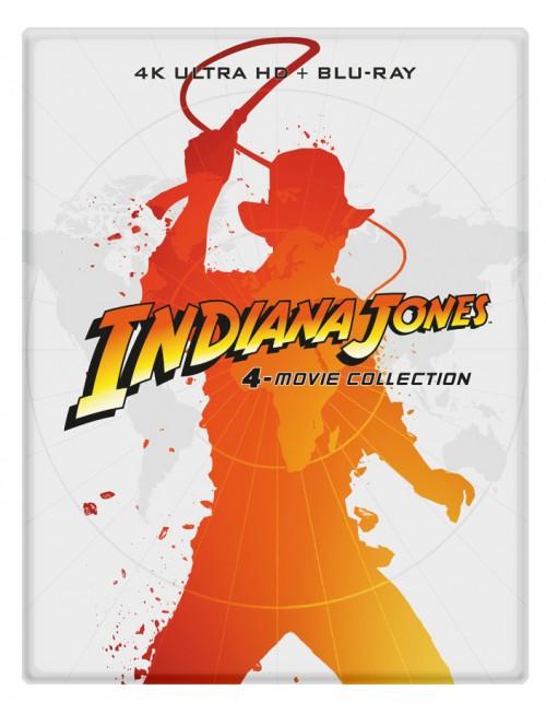 Colección Indiana Jones (4K UHD + BD) (Steelbook)