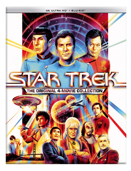 Star Trek The Original 4-Movie Collection (4 UHD + 4 BD)