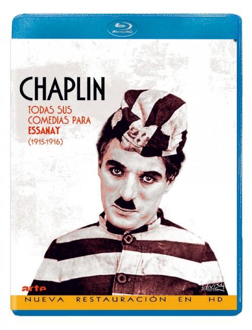 Chaplin - Todas sus comedias para Essanay (1915-1916)