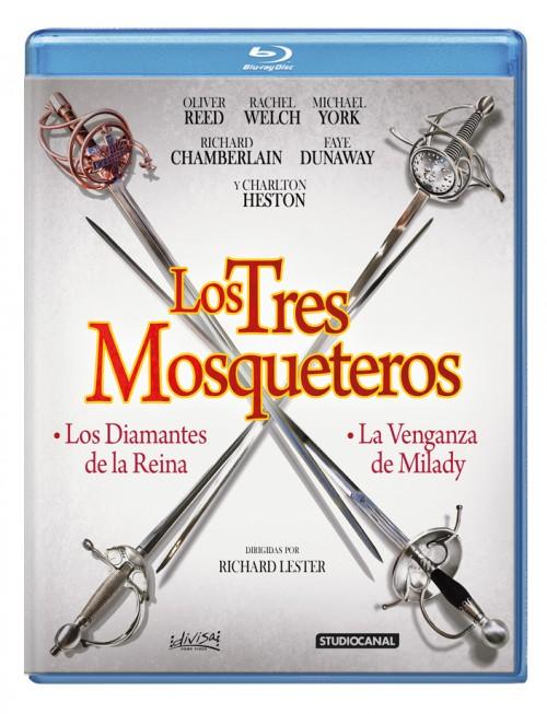 Los Tres Mosqueteros (pack)